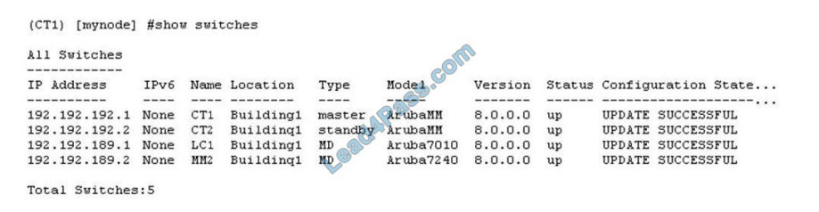 hp hpe6-a71 exam questions q9