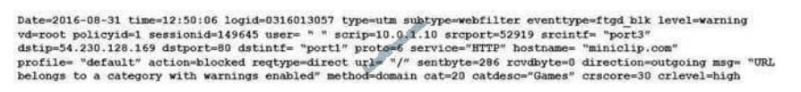 fortinet NSE4_FGT-6.4 exam questions q1